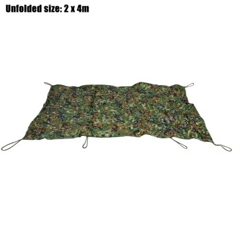 Harga 2M x 4M Woodland Military Hunting Camping Tent Car Cover Oxford Camouflage Net
