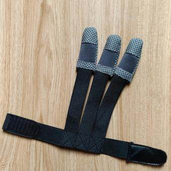 Harga 3 finger glove shooting archery (stretchable)
