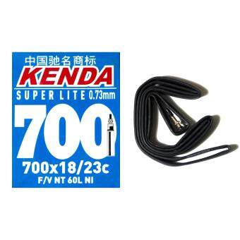 Harga 4PCS Kenda Super Lite Road Bike Tube 700x18c to 23c XL-60mm Presta Vlave FV Bicycle Inner Tube 700c For Racing