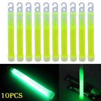 Harga PAlight 10pcs 6inch Industrial Grade Glow Sticks Light Stick Party Camping Emergency Lights Glowstick Chemical Fluorescent