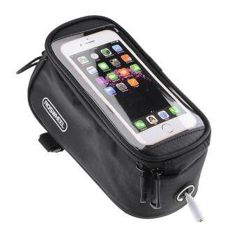 Harga ROSWHEEL Smartphone Touch Screen Pouch Cycling Bicycle Bike Phone Bag