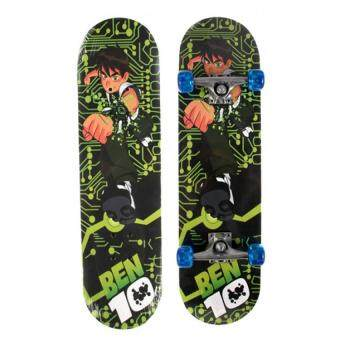 Harga 60cm Cartoon Kids Skateboard - Ben10