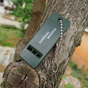 Harga Multifrequency Whistle Survival Rescue Emergency Signal Tool for Camping Hiking