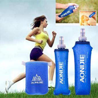 Harga 2PCS AONIJIE 170ml Soft Flask TPU Squeeze Outdoor Sports Running Water Bottle