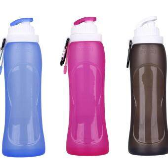 Harga Outpost Collapsible Folding Silicone Water Bottle 500ml (Random Colour) 1601427