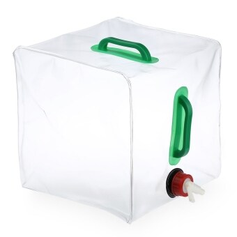 Harga MiniCar 20L PVC Outdoor Foldable Collapsible Transparent Drinking Water Bag Car Water Carrier Container