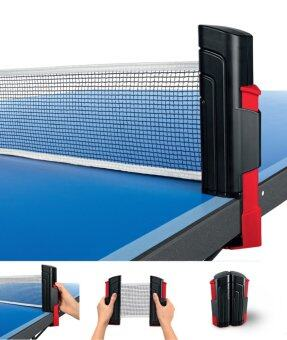 Harga Portable Retractable Telescopic Table Tennis Net Rack Replacement Ping Pong Net Set