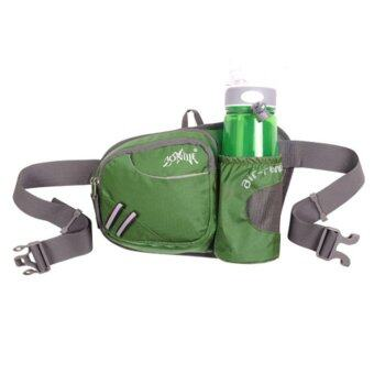 Harga AONIJIE Waist Bag Pack with Bottle Pouch (Green)