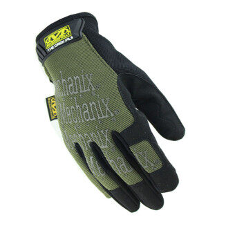 Harga Motorcycle Gym Tactical Fitness Cycling Men Gloves Airsoft Outdoor Sport Wearproof Gloves Green (Intl)
