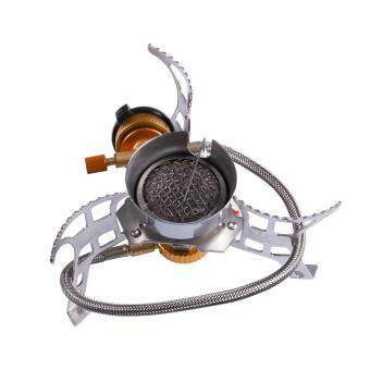 Harga Portable Camping Windproof Stove Outdoor Folding Gas Stove Camping Hiking Picnic Stove