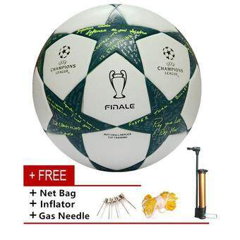 Harga Soccer Ball Professional Champions League Final Size 5 Seamless PU Training Competition Football Ball