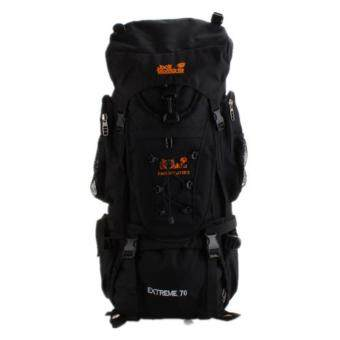Harga 70L Outdoor Hiking Backpack Camping bag