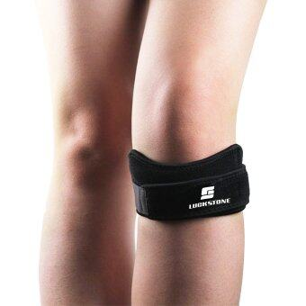 Harga Professional Patella Strap, air vent and cushioning knee pad,Knee strap,One size, Adjustable tightness, 1 PCS, Black