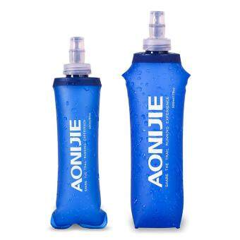 Harga AONIJIE Sports Foldable BPA PVC Free Soft Running Water Kettle Soft Hiking Flask Hydration Bottle