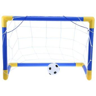 Harga Mini Football Soccer Goal Post Net Set