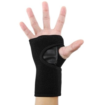 Harga MiniCar Wrist Support Band Guard Bracer Outdoor Equipment Black(Color:Black)