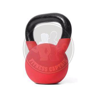 Harga Fitness Gym Workout Neoprene Kettlebell with 10KG (Color Random)