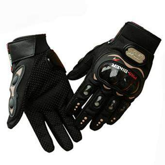Harga Generic Carbon Fiber Cycling Motorcycle Racing Full Finger Gloves L
