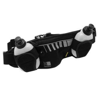 Harga Karrimor Unisex 2 Adjustable Waistband Running Drink Hydration Bottle Belt Black