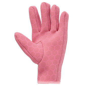 Harga 1.5mm Neoprene Diving Scuba Fishing Water Sport Textured Palms Gloves Pink S