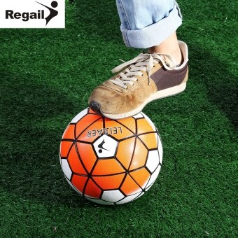 Harga MiniCar REGAIL Size 5 Anti-slip PU Graded Soccer Ball Football