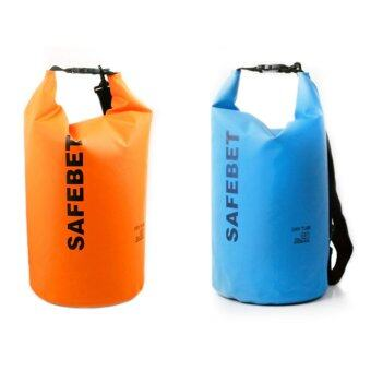 Harga Safebet Waterproof Dry Bag Shoulder Strap Belt Beach Swimming 10L