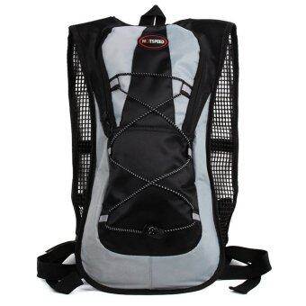 Harga HOTSPEED Hydration Pack Water Rucksack Backpack Bladder Bag Cycling Hiking Climbing Pouch 5L (Black)