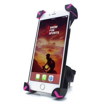 Harga Bike Phone Mount, Universal Bicycle and Motorcycle Mount Phone Holder 360 Degrees Rotatable for Most Smartphone