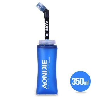 Harga 2PCS AONIJIE 350ml Foldable Soft Flask TPU Outdoor Sports Running Water Bottle