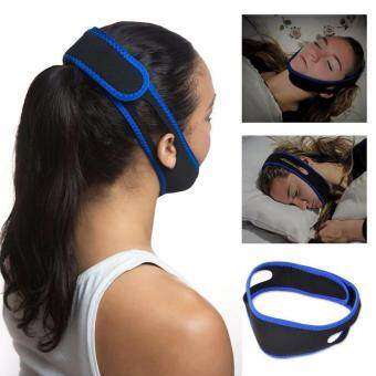 Harga Stop Snoring Chin Anti Snore Chin Strap Snore Belt Anti Apnea Jaw Solution Sleep TMJ Support DI