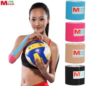 Harga Mumian 5cm*3M Kinesio Tex Tape Athletic Tapes Kinesiology Sport Taping Strapping Knee Muscle Kinesiotape MK6
