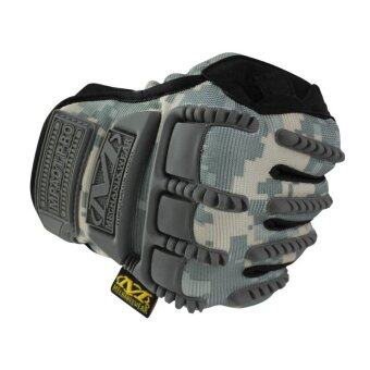 Harga Mechanix Men Gloves Wear M-Pact Military Tactical Army Motocycle Bicycle Shooting Gloves ACU
