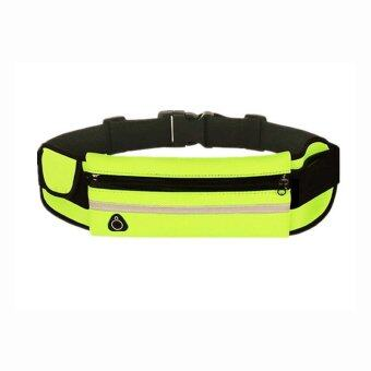 Harga Ugreen Sport Running Waist Pack Waterproof Belt Adjustable Bag Nylon Pouch Mobile Phone Hold for Phone (Green)