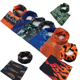 Harga GETEK New Outdoor Sports Bicycle Bike Cycling Sweatband Head Scarf Outdoor (Multi-color)