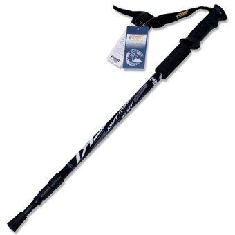 Harga Trekking Pole Walking Stick Adjustable Hiking Alpenstock Aluminum Alloy Climbing Camping Telescopic Cane