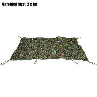 Harga 1M x 2M Military Hunting Camping Tent Car Cover Oxford Camouflage Net