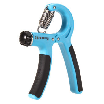 Harga S & F Grip Strengthener Adjustable Hand Exerciser Resistance 22 to 88 Lbs (Blue)