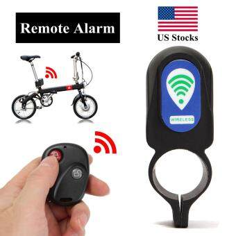 Harga Wireless Remote Control Anti-theft MTB Cycling Security Audible Sound Lock Guard Bike Bicycle Alarm Siren Shock Vibration Sensor