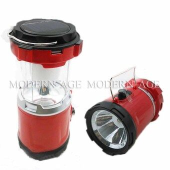 Harga Modern Age Rechargeable Solar Powered Camping Lantern