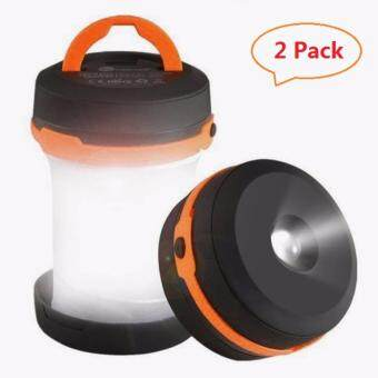 Harga 2PCS Portable LED Lantern Collapsible, Camping Lantern Battery Operated Camp Light for Fishing, Hiking, Emergency and Outdoor Adventures