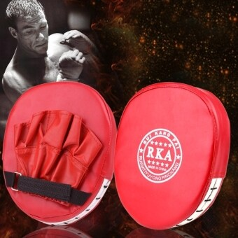 LoveSport Boxing Mitt Training Target Focus Punch Pad Glove MMAKarate Muay Kick Kit (Red) - 5