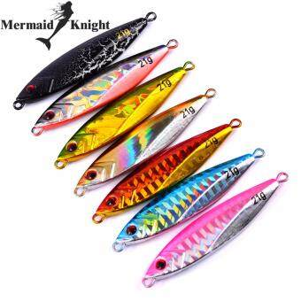 "MermaidKnight 10PC Metal Fishing Lures 6cm-2.36""/22g-0.78oz Lead Fishing Baits Metal Jigging Fishing Lure Artificial Hard Bait Fishing Tackle"