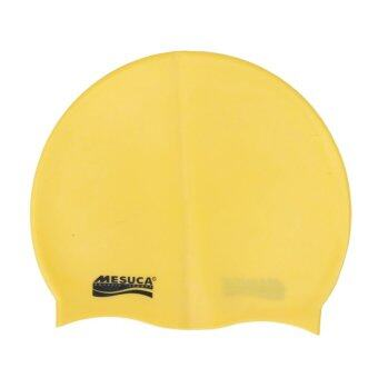 MESUCA(R) Solid Color Silicone Swimming Cap for Adult MS2111 - 2