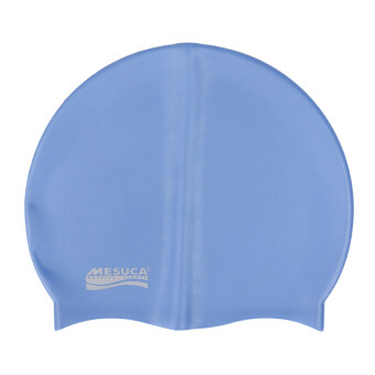 MESUCA(R) Solid Color Silicone Swimming Cap for Adult MS2111