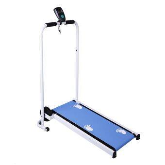Mini & Foldable Treadmill Blue