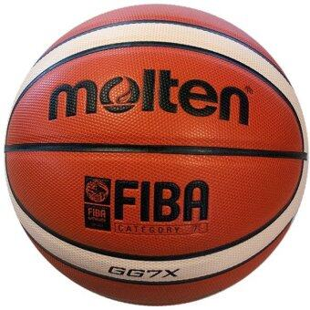 Molten GG7X Basketball Composite Leather FIBA Approved IndoorOutdoor