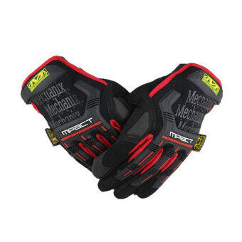 Moonar Sports Motorcycle Gloves (Red) - 2