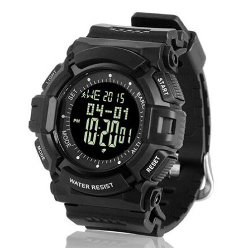 NORTHEDGE Digital Watches Men Wrist Watch with Weather forecast Altimeter Barometer Thermometer Altitude Pedometer for Climbing Hiking Fishing Running Outdoor Sports Malaysia