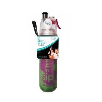 Harga O2COOL Splash 20oz Insulated ArcticSqueeze Mist 'N Sip Bottle Green