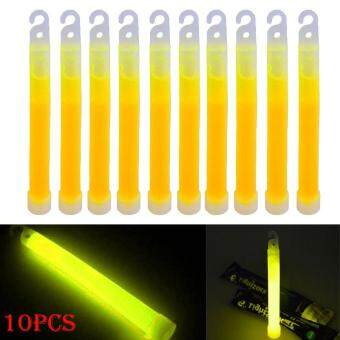 Harga PAlight 10pcs 6inch Industrial Grade Glow Sticks Light Stick PartyCamping Emergency Lights Glowstick Chemical Fluorescent